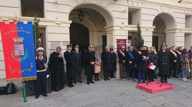 Commemorazione Carabinieri Fernando Stefanizzi 2020  - San Damiano d'Asti