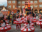 grande partecipazione al carnevale di Castelnuovo Belbo
