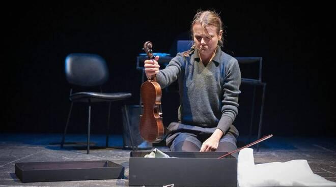 guido suonava il violino, foto di di Piermario Adorno