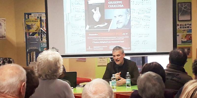 Incontro con Culicchia alla Biblioteca Monticone
