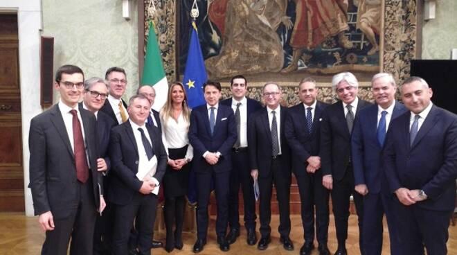 incontro UPI conte Roma