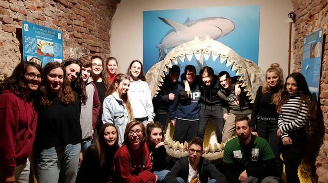 liceo classico al museo paleontologico
