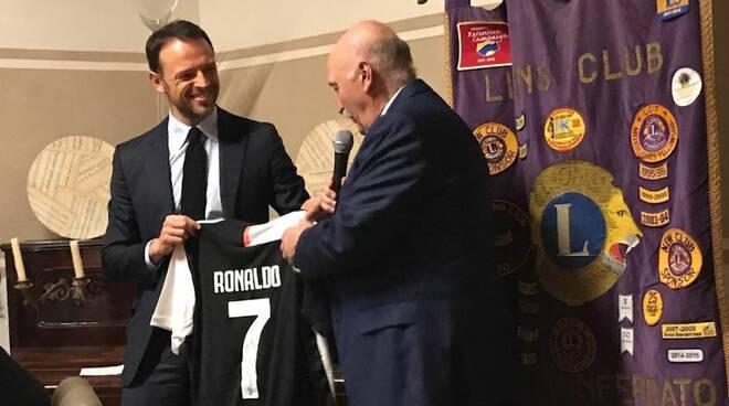 Lions club Nizza Canelli ha ospitato il Dottor Giorgio Ricci