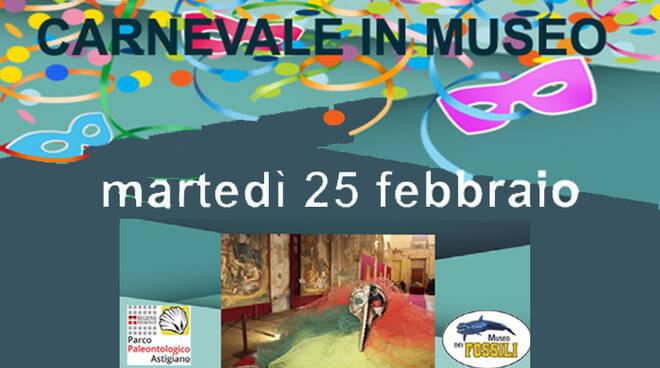 Martedì grasso, appuntamento di Carnevale al Museo Paleontologico di Asti