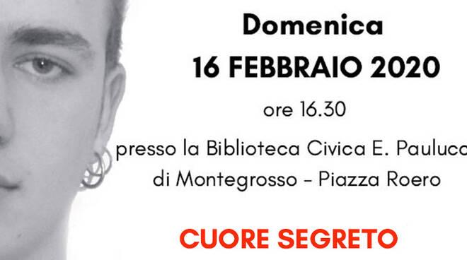 Montegrosso d'Asti: in Biblioteca la presentazione del libro di Luca Vargiu