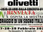 mostra olivetti belveglio rinviata