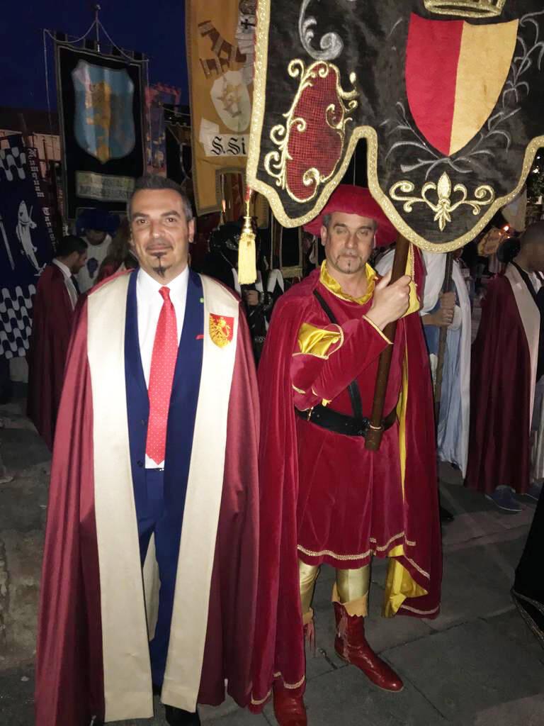 Palio di Asti: Nizza presenta il fantino Antonio Siri