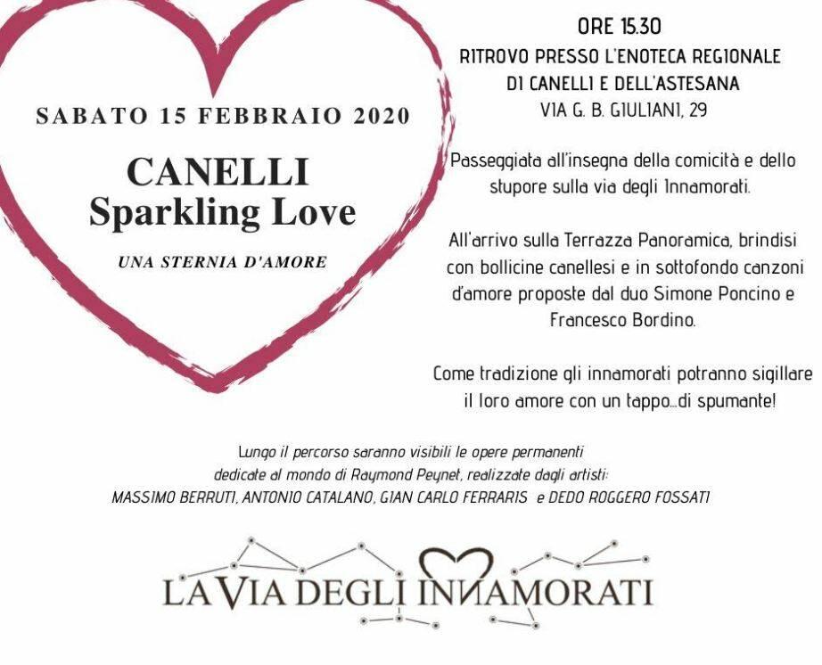 Sabato 15 Febbraio 2020 - Canelli Sparkling Love - Una Sternia d'Amore 2020
