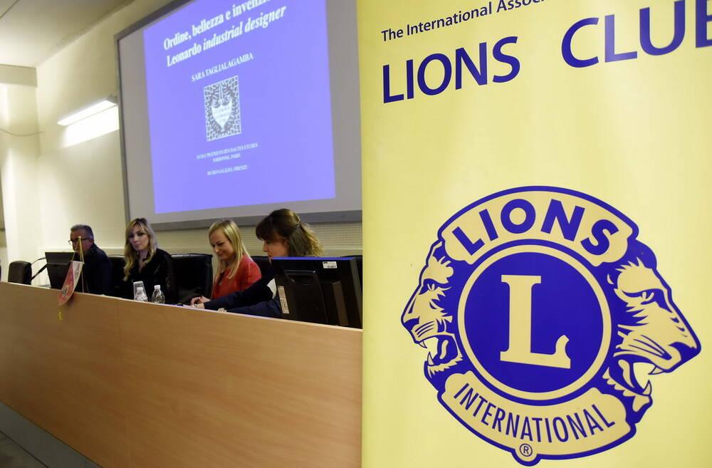 Service Lions Asti Hosta su Leonardo Da Vinci