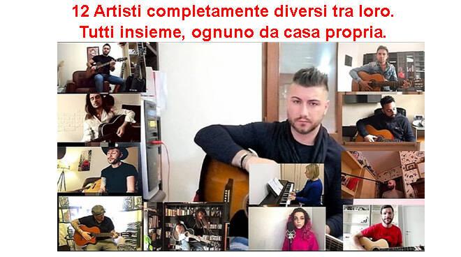 Anche un astigiano tra i 12 cantautori italiani nel video di