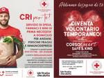 croce rossa volontari e spesa