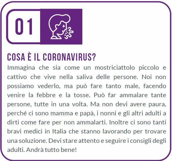 decalogo bambini coronavirus