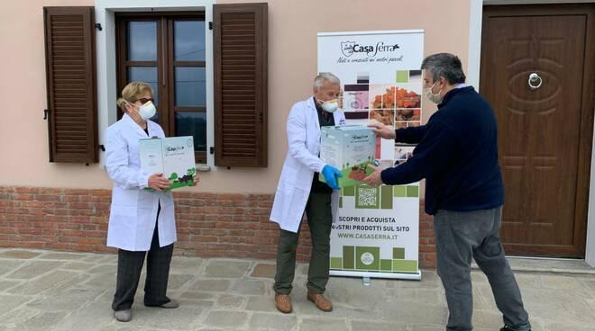 donazione carne casa serra