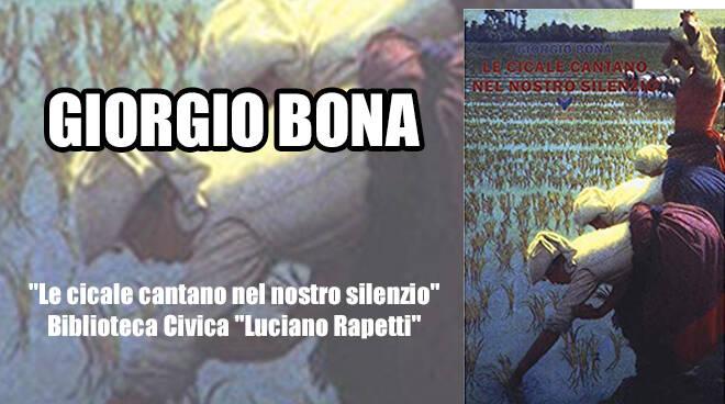 Fontanile, Giorgio Bona ospite alla Biblioteca Civica