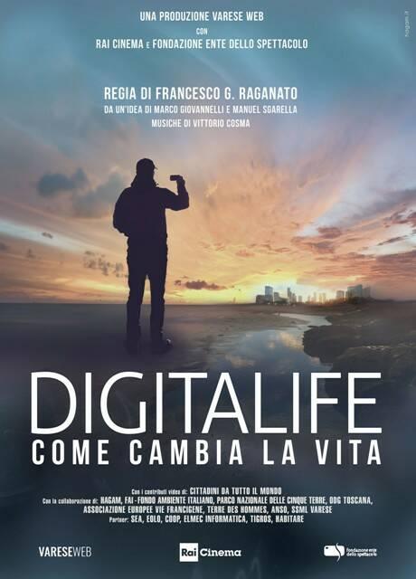 Il docufilm DigitaLife giovedì 26 marzo su RaiCinema.it