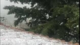 Neve Castagnole Lanze 26 03 2020