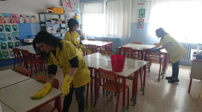 pulizia scuole ferraris asti igienizzazione straordinaria