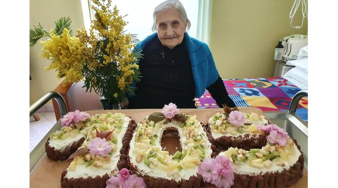 105 anni margherita bain