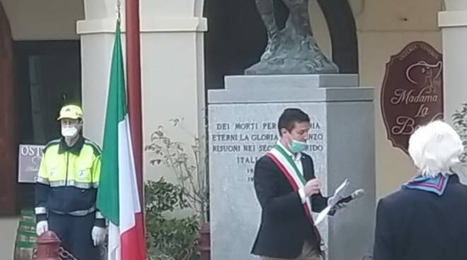 25 aprile 2020 San Damiano d'Asti