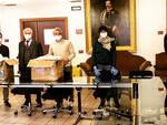 Alba: l'amministrazione comunale ringrazia i gruppi consiliari di opposizione per la donazione di 2.000 mascherine