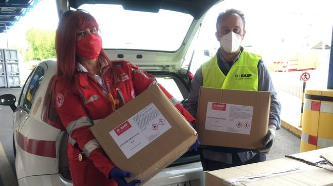 BASF Italia scende in campo contro l'emergenza Covid-19