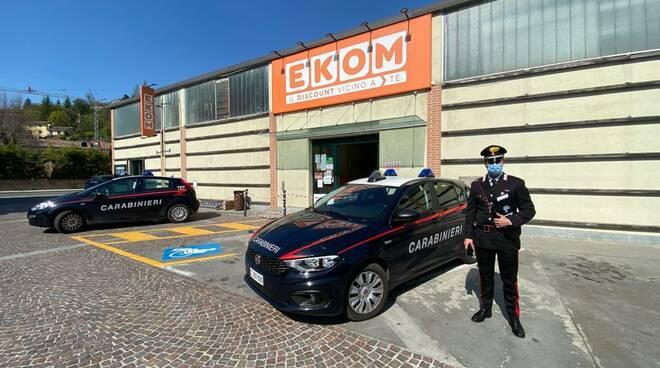 carabinieri castagnole lanze furto ekom