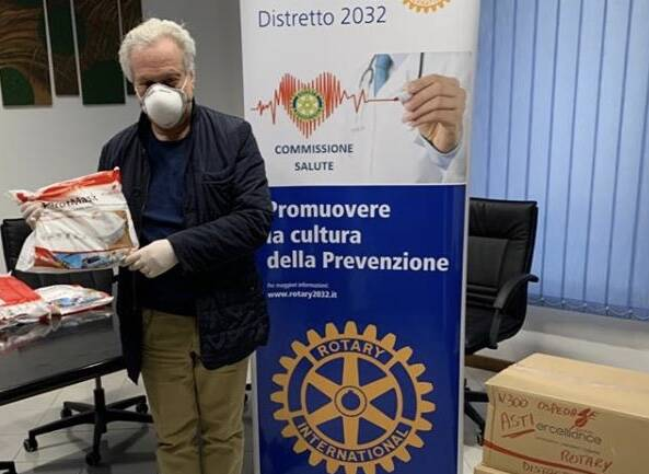 donazioni rotary club coronavirus