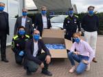 EQSG ed Euro Master Evolution consegna le loro prime 1.000 mascherine alla Protezione Civile di Asti