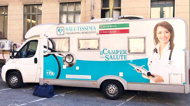 Fab Sms Donato Alla Regione Piemonte Un Camper Della Salute Atnews It