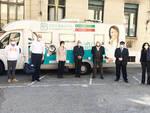 Fab SMS: alla Regione Piemonte un Camper della salute per effettuare i tamponi Covid-19 nelle RSA
