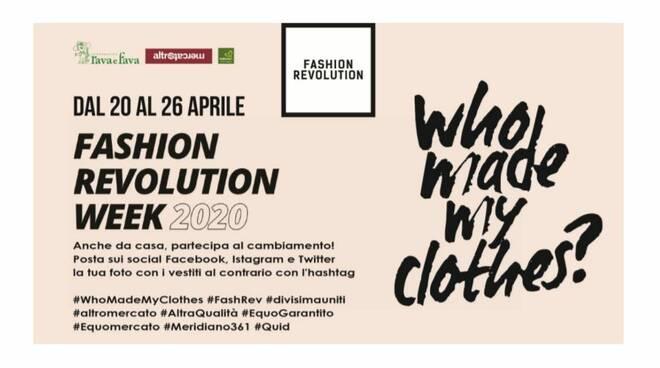 Fashion Revolution 2020 rava fava
