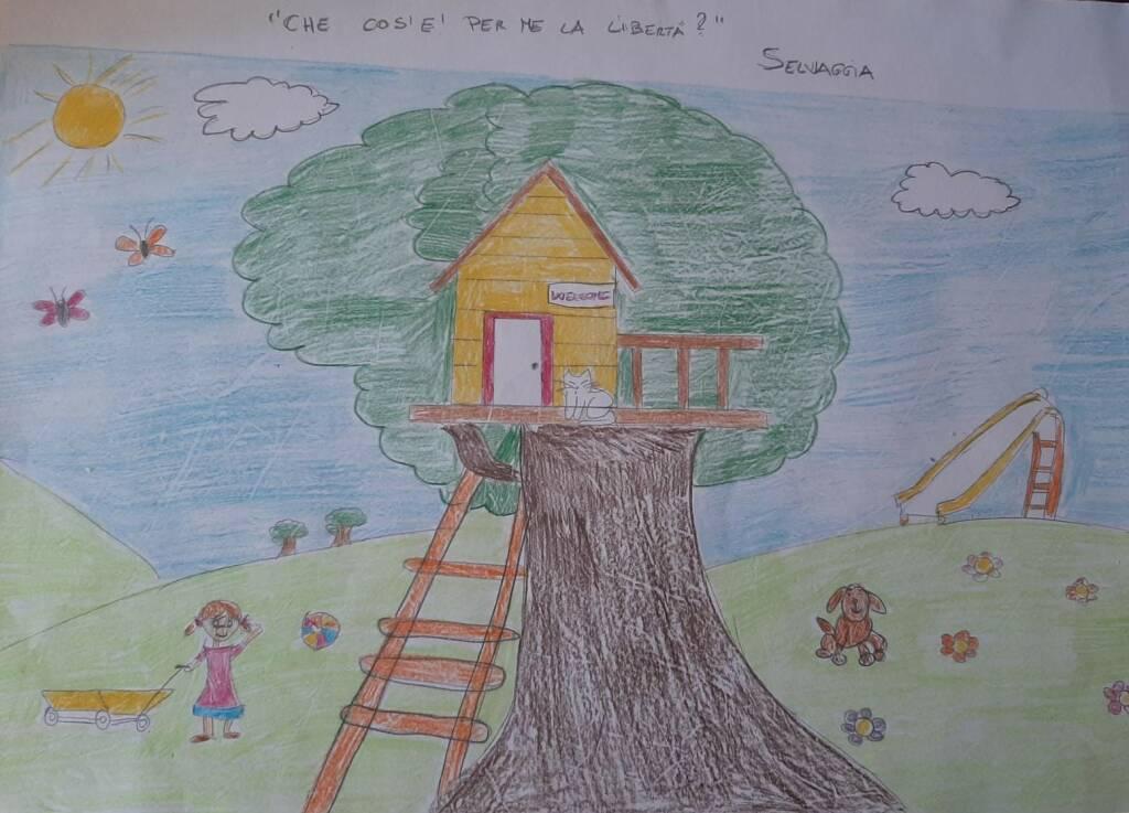 I lavori degli alunni della scuola primaria di Castelnuovo Belbo in occasione del 25 aprile