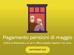 pensioni pagamento poste
