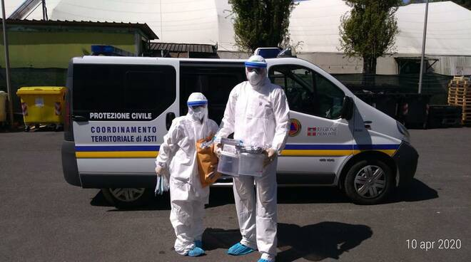 protezione civile asti coronavirus