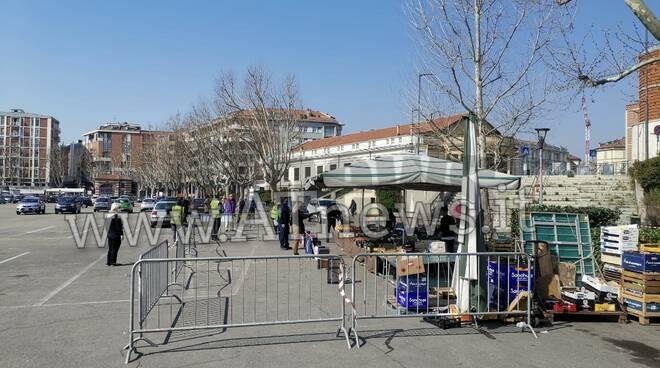 Riapertura mercati Asti