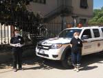 A Castelnuovo Belbo la protezione civile consegna le mascherine della Regione