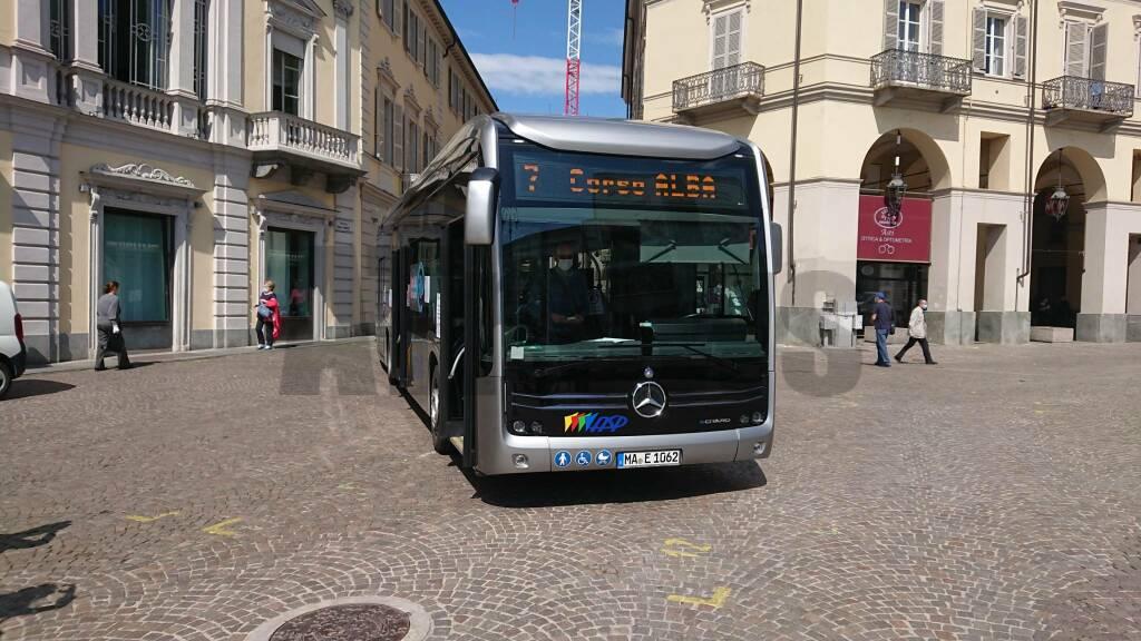 Bus elettrico Asp nuovo