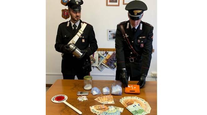 carabinieri villanova arresto spacciatore monale