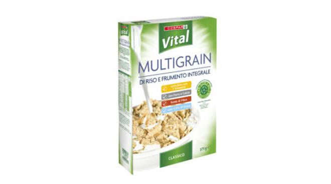 """Despar richiama Multigrain di riso e frumento integrale perché contiene """"lecitina di soia"""""""