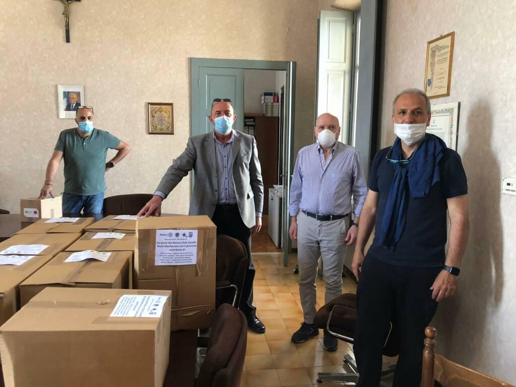 donazione rotary canelli nizza covid