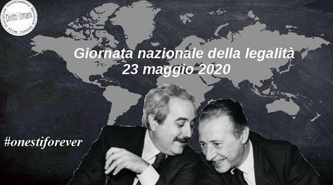 Locandina Giornata nazionale della legalità 2020