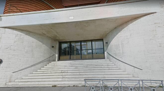 scalinata sopra piazza del palio asti