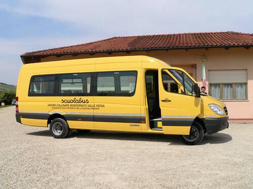 scuolabus valle versa