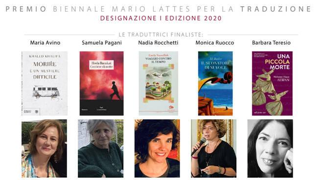Annunciate le 5 finaliste Premio Mario Lattes Traduzione