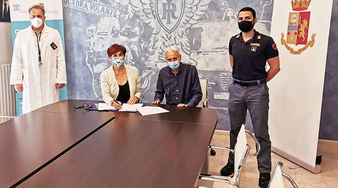 Asti, test sierologici per tutto il pesonale della Polizia di Stato