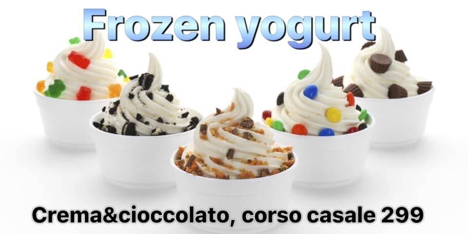 bubbles tea frozen yogurt