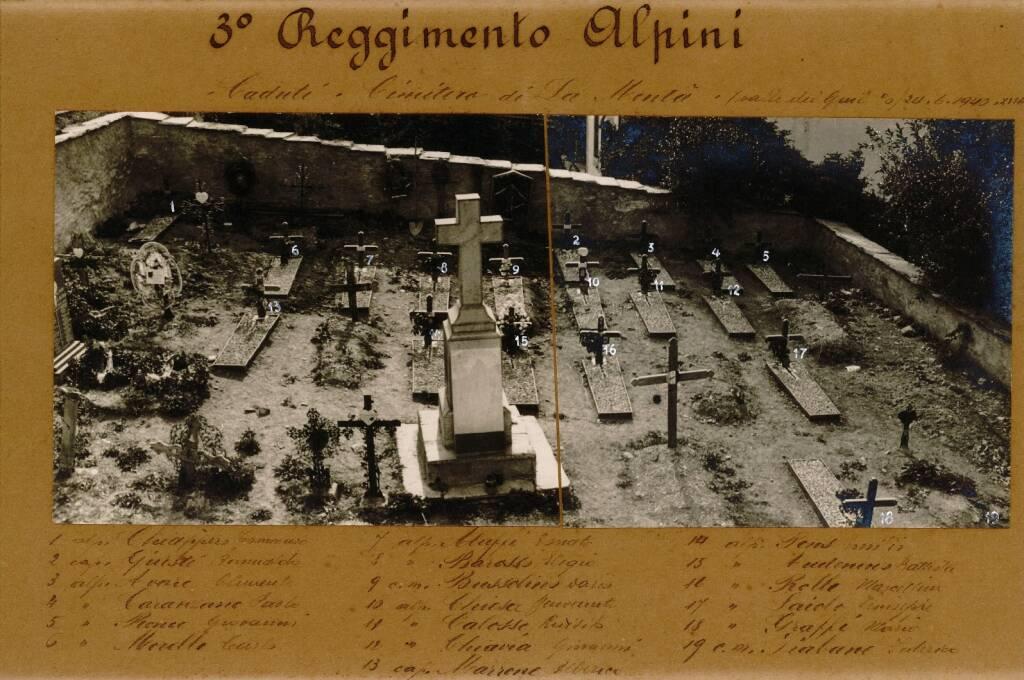 cimitero alpini morti inizio seconda guerra mondiale