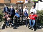 consegna chiavi bagni disabili alba