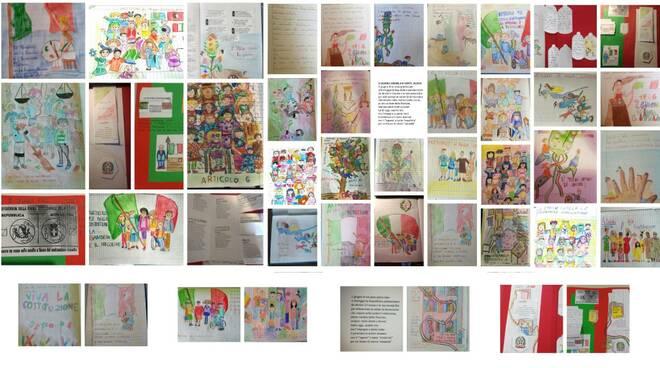 disegni anna frank 5a e 5b festa repubblica 2020
