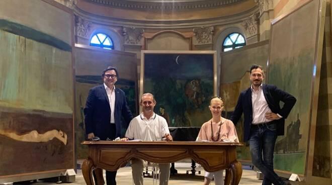 firma protocollo associazione paesaggi vitivinicoli fondazione pavese